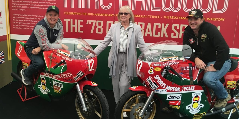Chasing Down a Legend - The book of The Hailwood